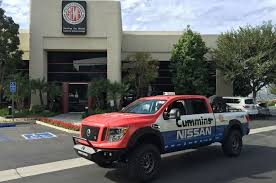 nissan mazda truck 2016 nissan titan xd gets measured for sema photo u0026 image gallery