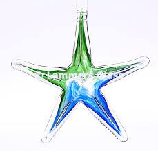 blown glass starfish