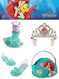 Mermaid Toddler Halloween Costume Disney Store Kid Halloween Costumes Trick Treat