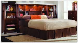Queen Platform Bed With Storage And Headboard Cool Bed With Shelf Headboard Design U2013 Modern Shelf Storage And