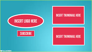 free youtube video end card templates u0026 tools the easiest way to