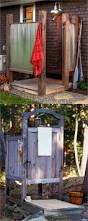Outdoor Shower Pole by Best 25 Outdoor Shower Enclosure Ideas On Pinterest Portable