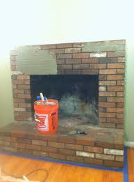 ugly fireplace gets gorgeous cranberry u0026twigs at home