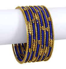 fashion bracelet designs images Designer silk thread wrapped bangle set indian women fashion jpg