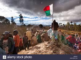 Ceremony Flag Madagascar Antsirabe Famadihana U0027turning Of The Bones