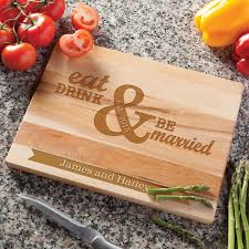 personalize cutting board eat drink be married personalize cutting board personalized