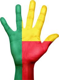 Benin Flag Benin Flag Hand National Picpng