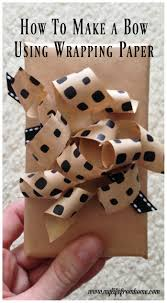 how to make a bow using gift wrap bows making bows gift wrap