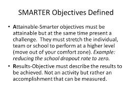 Out Of Comfort Zone Activities Smarter Objectives S Specific Performance M Measurable A