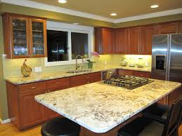 Almond Kitchen Cabinets by Light Beige Glass Subway Tile In Almond Modwalls Lush 3x6 Tile