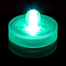 teal submersible led light