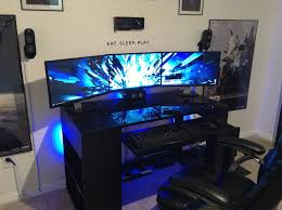 Large Gaming Desk by Best Computer Desk Gaming Chair Best Home Furniture Decoration