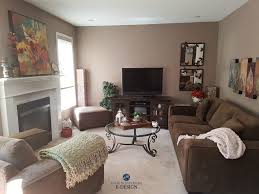 benjimin moore benjamin moore weimaraner taupe paint colour in living room wtih