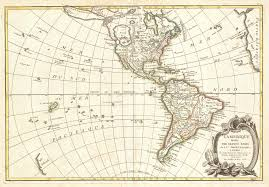 Map Of South America And North America by File 1762 Janvier Map Of North America And South America Sea Of
