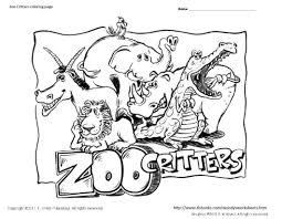 zoo coloring pages coloring books 8255
