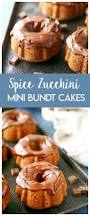 mini spice zucchini bundt cakes made to be a momma