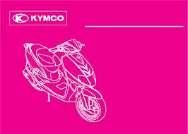 bedienungsanleitung kymco vitality 50 motorroller