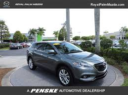 2013 used mazda cx 9 fwd 4dr grand touring at royal palm mazda