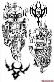 biomechanical tribal on shoulder viewer com