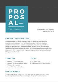 simple sales proposal template proposal templates canva