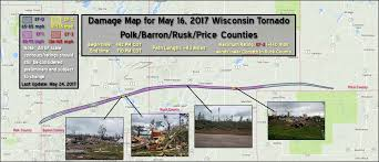 Wisconsin Public Land Map by May 16th Wisconsin Ef 3 Tornado Updated May 27th With Damage