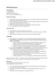 Resume Handling Banking Resume Samples Resume Samples And Resume Help