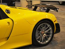 Porsche 918 Yellow - 2015 porsche 918 spyder weissach package with xpel paint protection 22