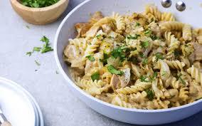 boursin cuisine recette spirellis au poulet chicon et boursin cuisine et recettes