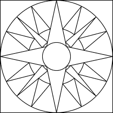 shapes mandala coloring pages for kids eeo printable shapes