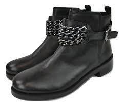 womens boots and booties burch black bloomfield chain ankle boots booties s