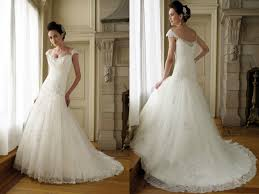 lace style wedding dresses lovely and elegant unique