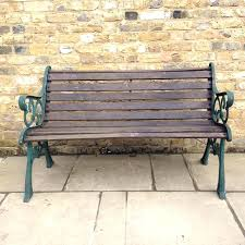 decorative outdoor benches ornate metal garden benches ornate