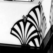 Photo Art Deco Art Deco Stencils For Cakes Stencils