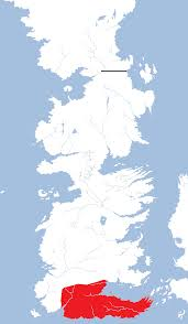 World Of Ice And Fire Map by Dorne A Song Of Ice And Fire Wiki Fandom Powered By Wikia