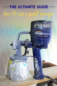 can you use a paint sprayer to paint kitchen cabinets how to use a paint sprayer the ultimate guide