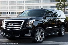 cadillac escalade cadillac escalade esv suv rental in los angeles and surrounding cities