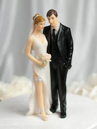 touch funny wedding cake topper