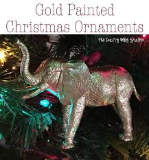 how to make gold animal ornaments the crafty stalker