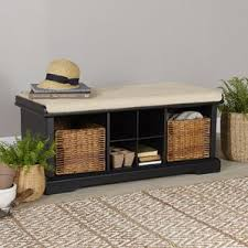 Hidden Storage Shoe Bench Black Shoe Storage You U0027ll Love Wayfair