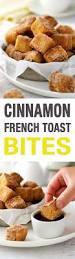 vaisselle petit dejeuner cinnamon french toast bites recette petit déjeuner recettes