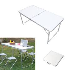 Folding Table With Handle Portable Folding Table With Handle Home Design Ideas