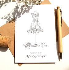 will you be my bridesmaid card will you be my bridesmaid card shop online hummingbird card
