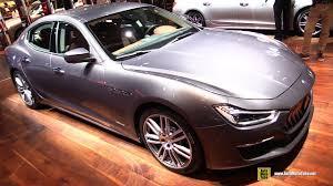 custom maserati interior 2018 maserati ghibli gran lusso exterior interior walkaround