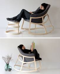 Furniture Ideas  Awesome Modern Rocking Chair Designs For Your - Design rocking chair