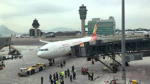 hkg hkia midfield concourse first flight youtube