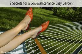 How To Make A Raised Vegetable Garden by 9 Secrets For A Low Maintenance Easy Garden The Micro Gardener