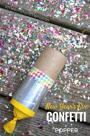 new years party poppers confetti poppers craft for new years kids party activities