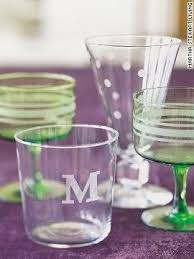 Diy Monogram Wine Glasses Diy Personalized Gifts Etched Glass Handspire