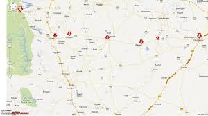 Hyderabad Map Hyderabad Mahabaleshwar Hyderabad Route Queries Team Bhp
