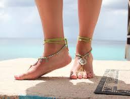 trends zomer 2015 boho barefoot sandals eiland meisje